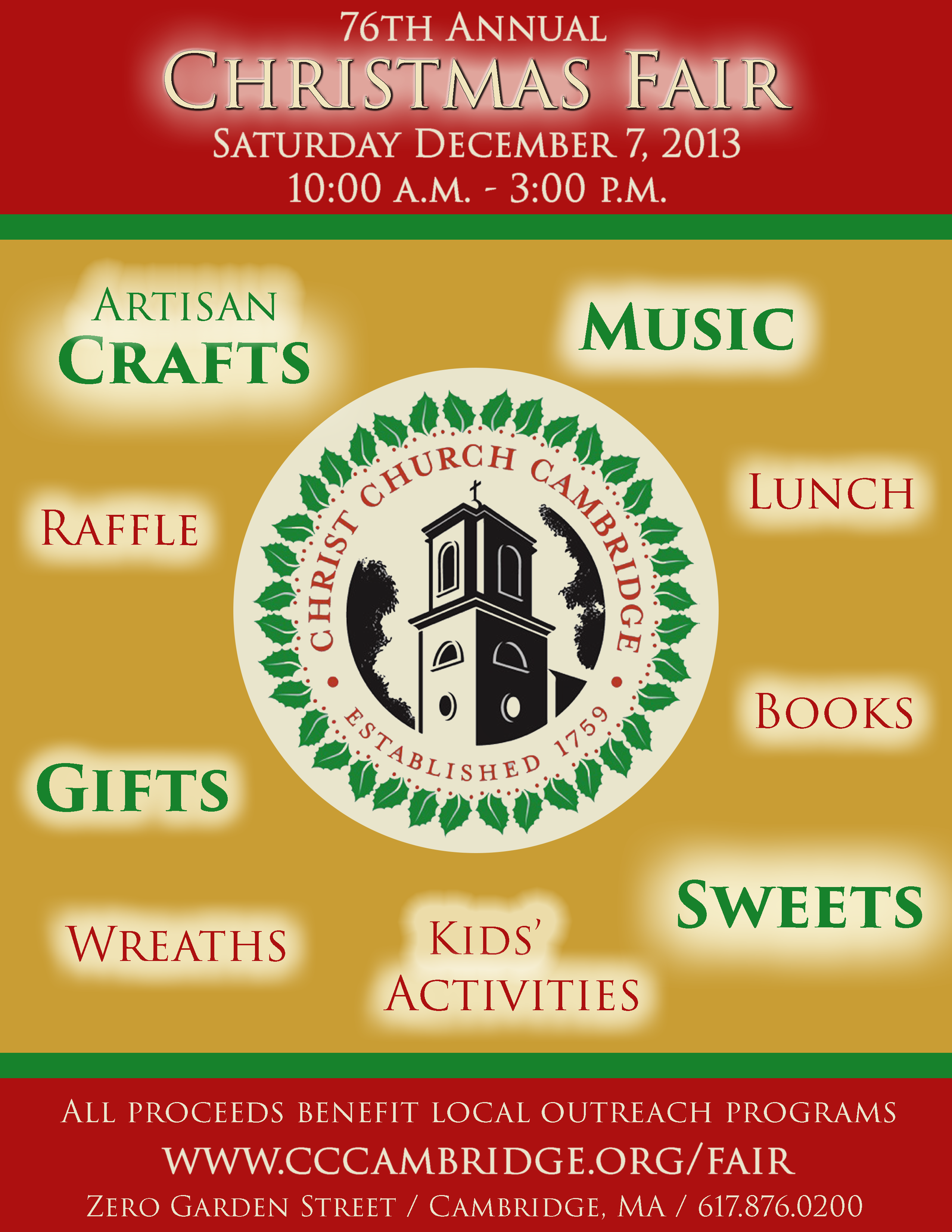 CCC Christmas Fair Flyer